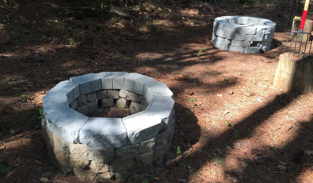Dueling Firepits Complete No Fire