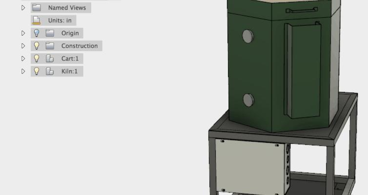 Kiln Fusion 360 Model