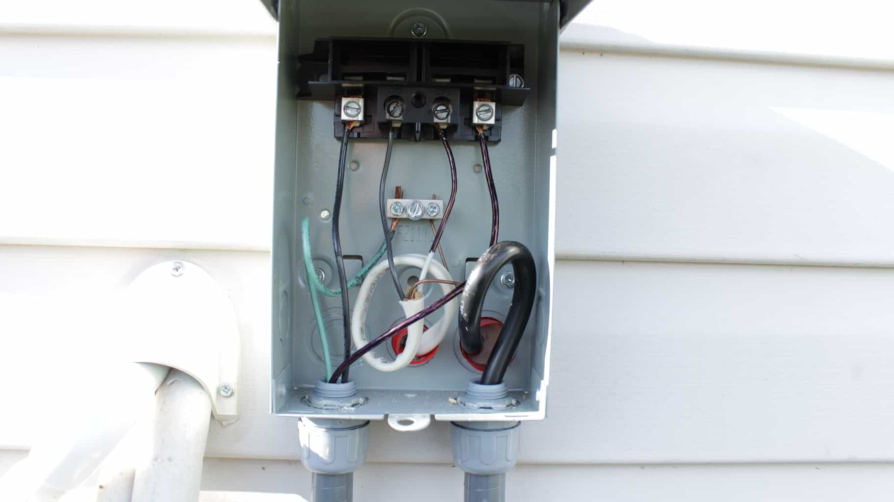 Outdoor Electrical Disconnect Box Not Lossing Wiring Diagram Enclosure Inside Of The Makercise Rh Com Main